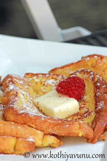 Eggnog French Toast |kothiyavunu.com