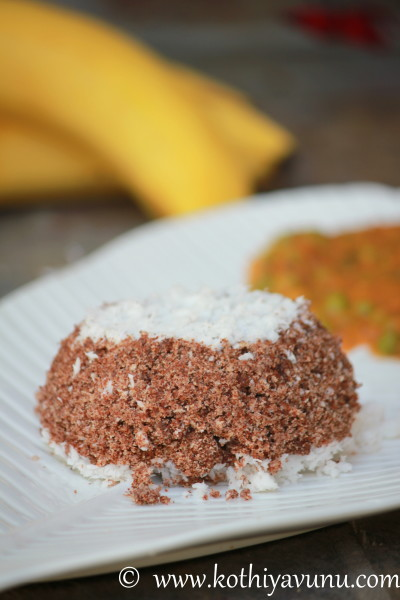 Ragi Puttu Recipe – Kerala Finger Millet Puttu