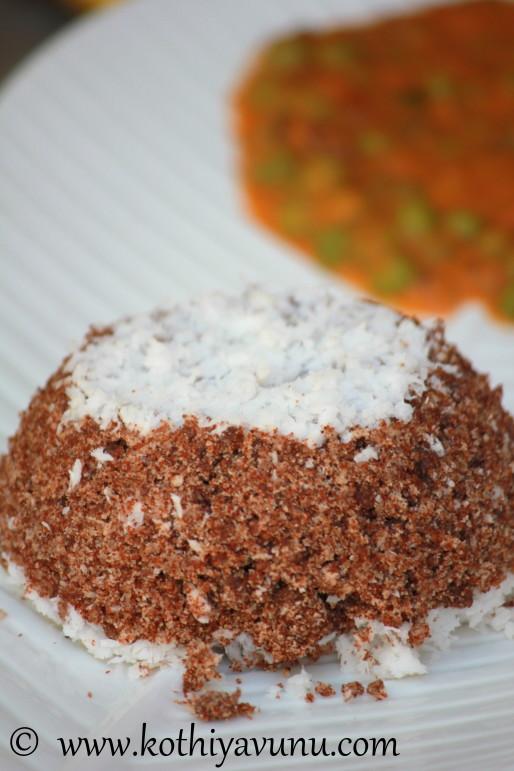 Ragi Puttu -Kerala Ragi- Finger Millet Puttu |kothiyavunu.com
