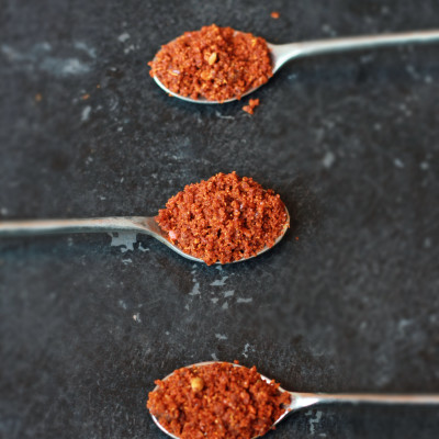 Dry Garlic Chutney Powder-Lahsun Chutney Recipe
