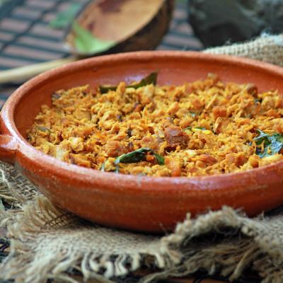 Tuna Ularthiyathu – Kerala Style Tuna Roast