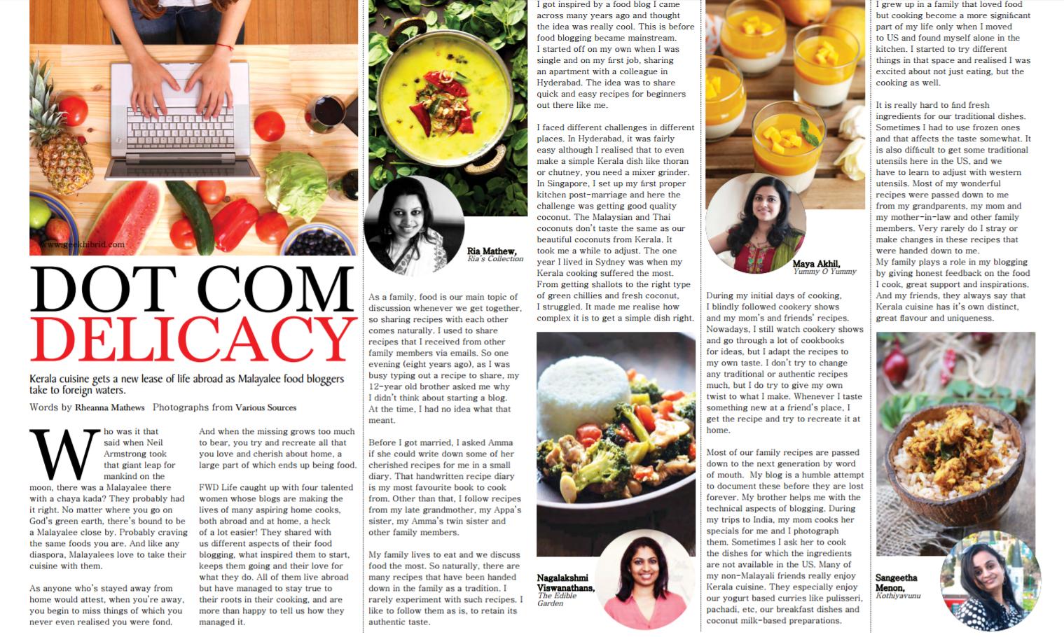 Me on FWD Life magazine |kothiyavunu.com