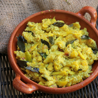 Chakka Aviyal-Jackfruit Aviyal -Onam Sadya Special
